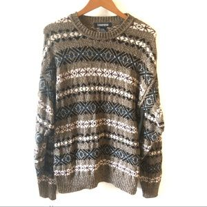 Jantzen retro dad/ grandpa sweater size large